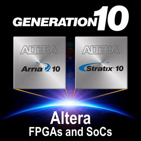 ПЛИС Altera семейства 10-го поколения