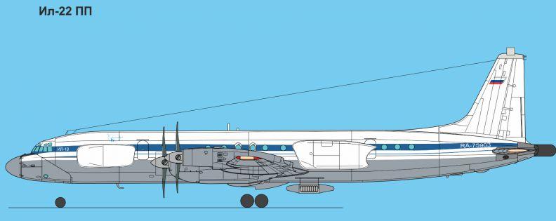 Самолет Ил-22